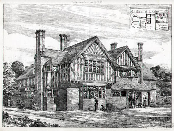 1883 – Hunting Lodge at Winchfield, Hampshire