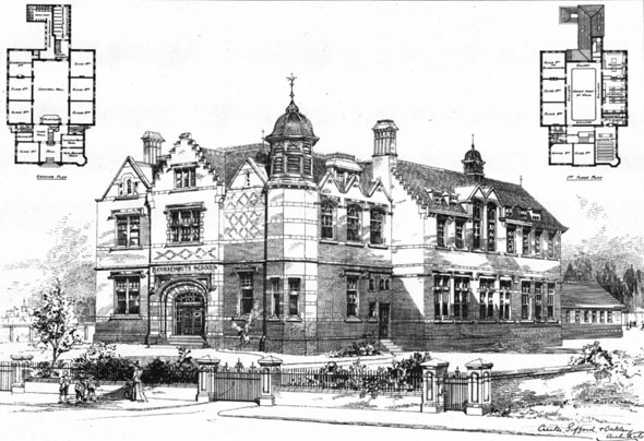 1901 &#8211; Bournemouth Schools, Hampshire