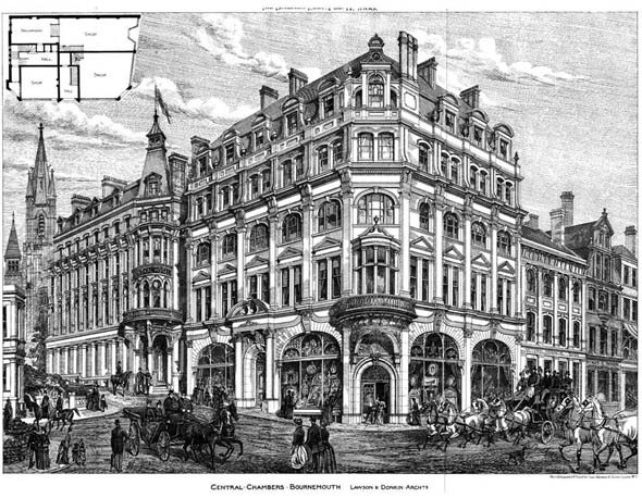 1888 &#8211; Central Chambers, Bournemouth, Hampshire