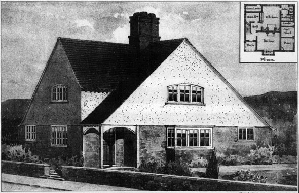 1906 – Gamekeepers Cottage, Barton Stacey, Hampshire