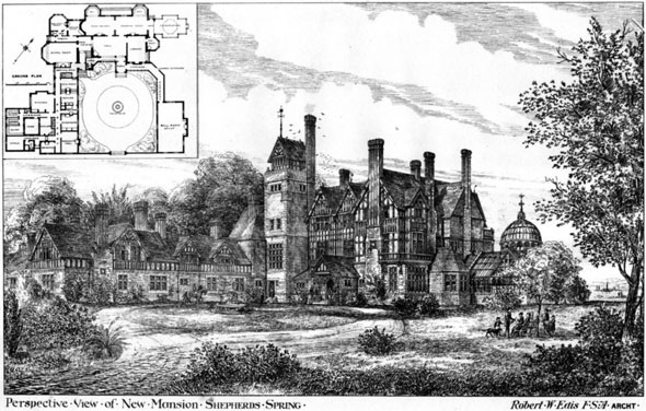 1877 &#8211; New Mansion, Shepherds Spring, Hampshire
