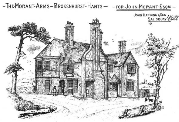 1881 &#8211; The Morant Arms, Brokenhurst, Hampshire