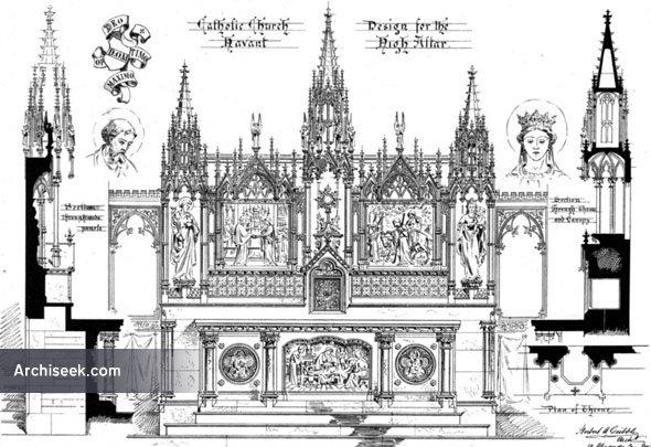 1881 – High Altar, Catholic Church, Havant, Hampshire