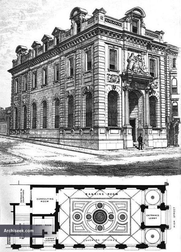 1875 – National Provincial Bank of England, Southampton, Hampshire