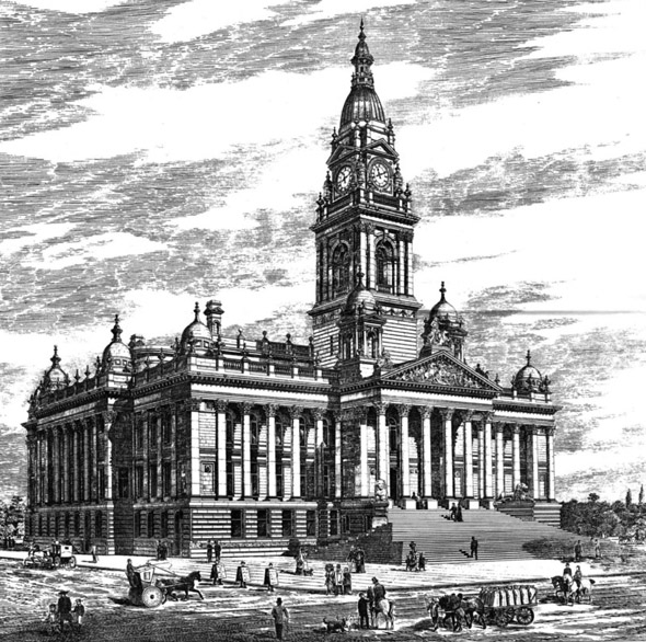 1890 &#8211; New Town Hall, Portsmouth, Hampshire
