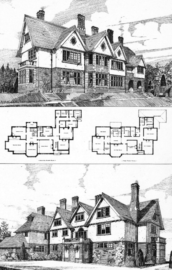 1901 &#8211; House at Headley Hill, Hampshire