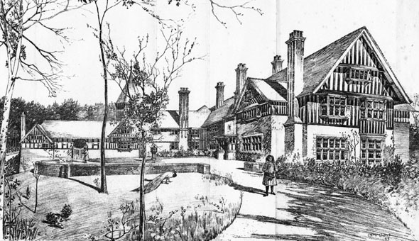 1896 &#8211; &#8216;Cold Harbour&#8217;, Liphook, Hampshire
