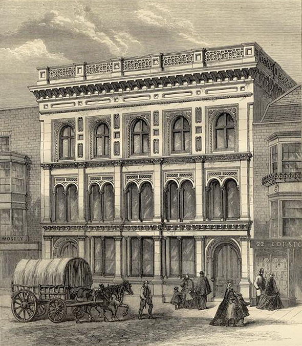 1866 – The Hampshire Bank, Southampton