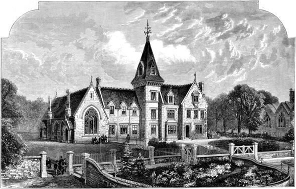 1876 &#8211; Odiham Endowed Grammar School, Hampshire