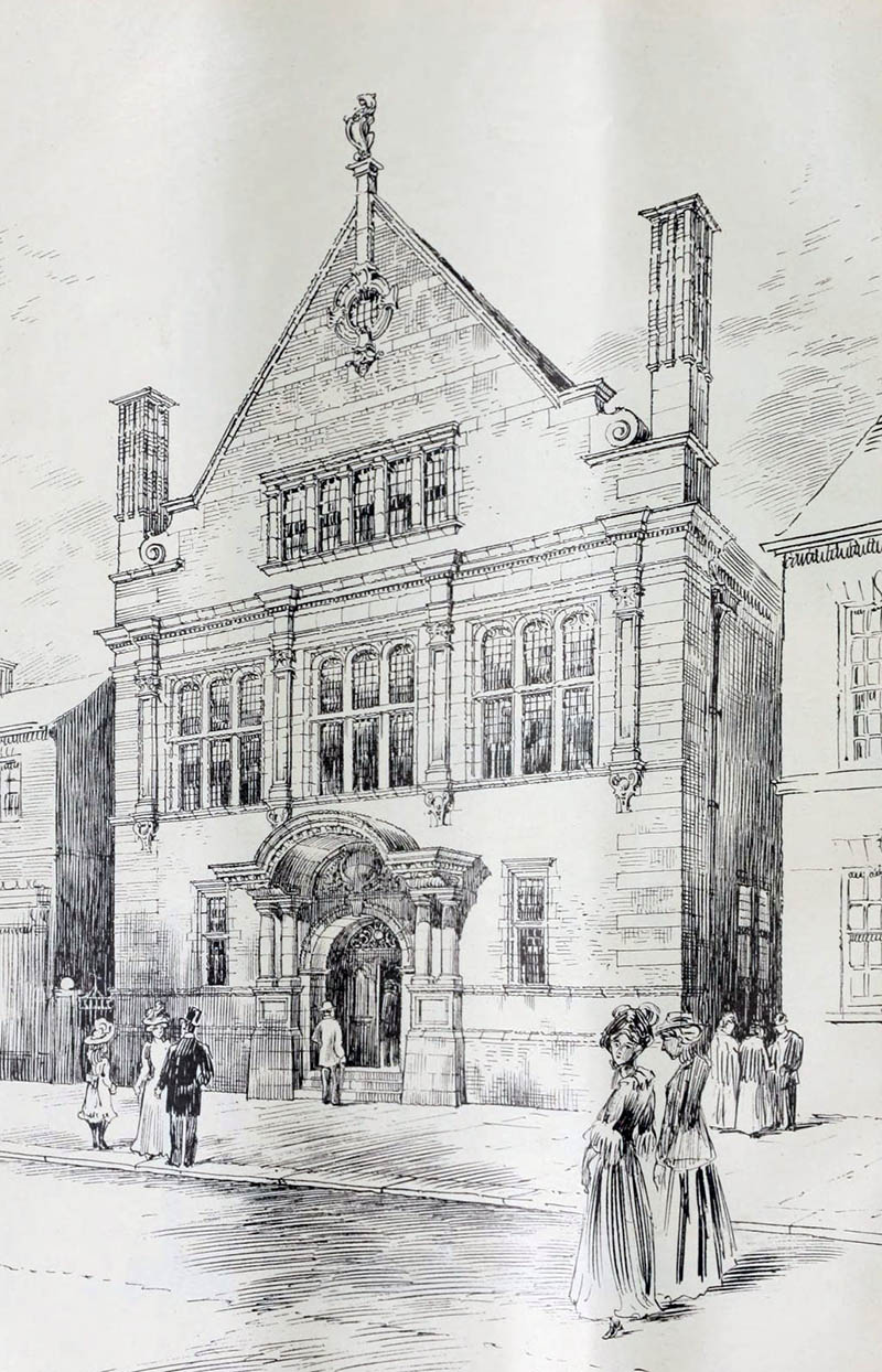 1902 – Design for Masonic Hall, Aldershot, Hampshire