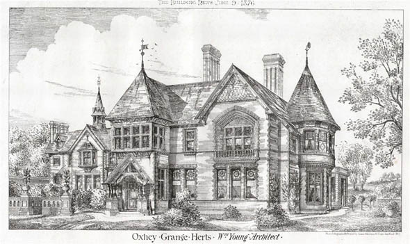 1876 &#8211; Oxhey Grange, Herefordshire