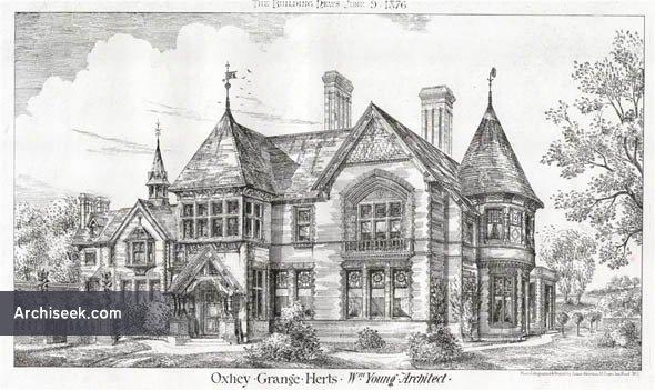 1876 – Oxhey Grange, Herefordshire