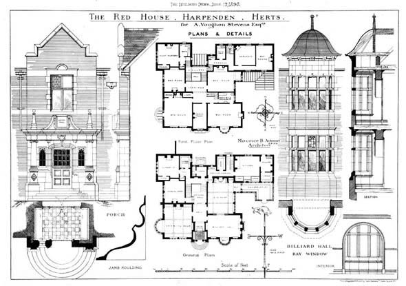 1898 &#8211; The Red House, Harpenden, Herefordshire