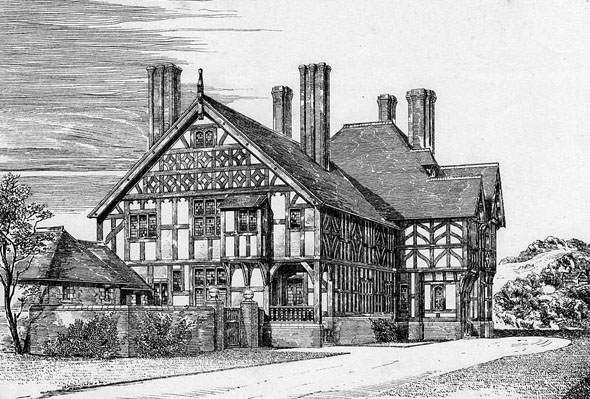 1881 &#8211; Rowden Abbey, Herefordshire