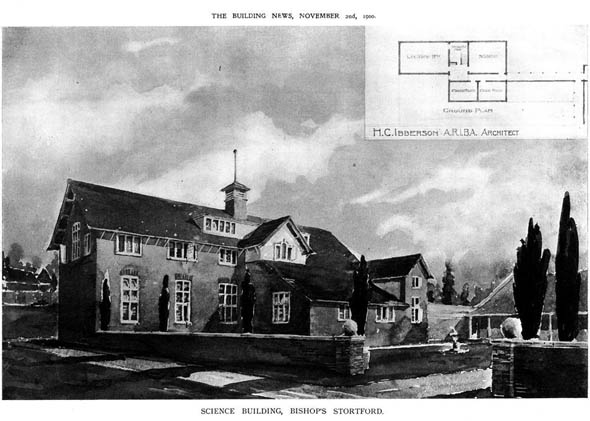 1900 – Science Building, Bishop Storford, Hertfordshire