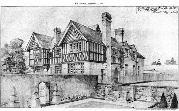 1894 &#8211; House Near St. Alban&#8217;s, Hertfordshire