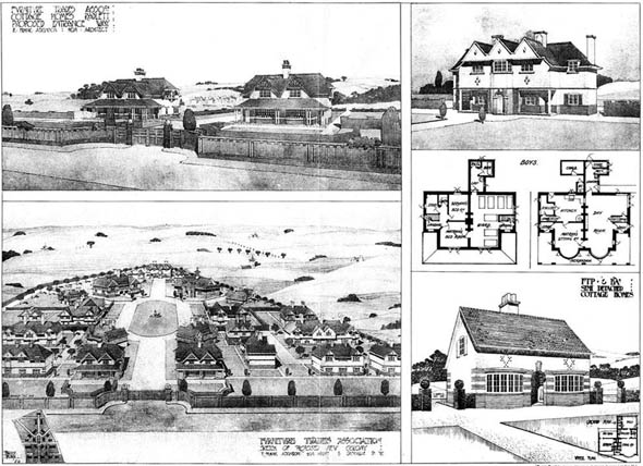 1905 – Cottages & Homes at Radlett, Hertfordshire