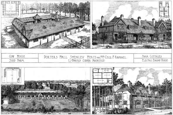 1903 &#8211; Porters Hall, Shenley, Hertfordshire