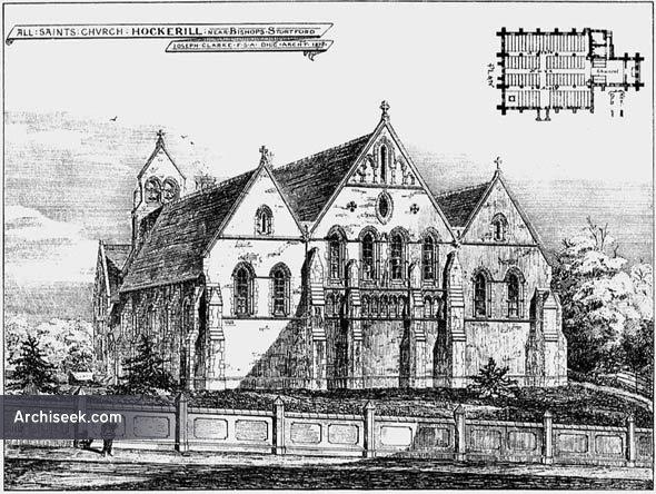 1878 – All Saints Church, Hockerill, Hertfordshire