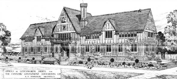 1910 – Offices, Letchworth, Hertfordshire