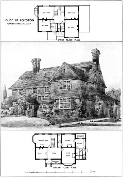 1904 &#8211; House at Royston, Hertfordshire