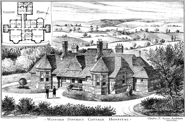 1885 – Watford District Cottage Hospital, Hertfordshire