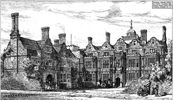 1879 &#8211; Rawdon House, Hoddesdon, Hertfordshire