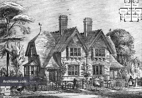 1875 – Cottages, Oxhey, Hertfordshire