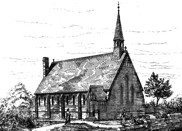 1875 &#8211; Congregational Church, Little Hadham, Hertfordshire