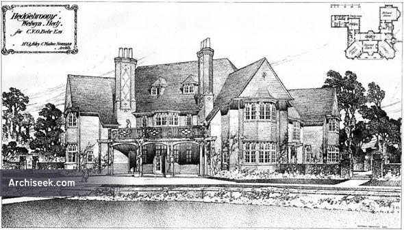 "1908 – ""Hedgebrooms"", Welwyn, Hertfordshire"
