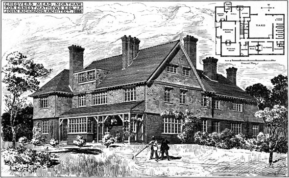 1898 &#8211; Chequers Mead, Northaw, Hertfordshire