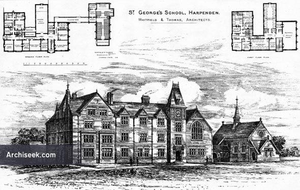 1886 – St. George's School, Harpenden, Hertfordshire