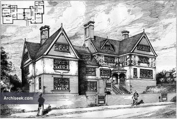 1887 – Houses at Broxbourne, Hertfordshire