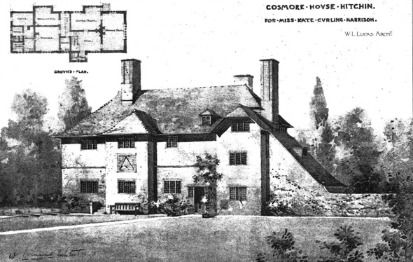 1901 – Cosmore House, Hitchin, Hertfordshire