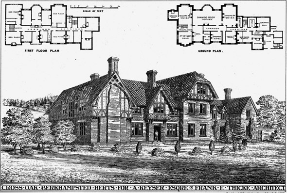 1875 &#8211; Cross Oak, Berkhamptead, Hertfordshire
