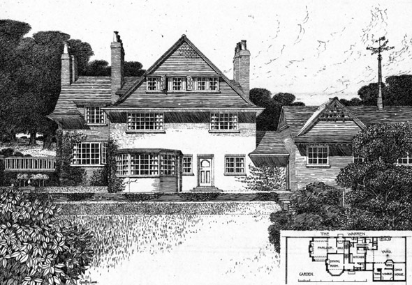 1902 &#8211; House at Royston, Hertfordshire