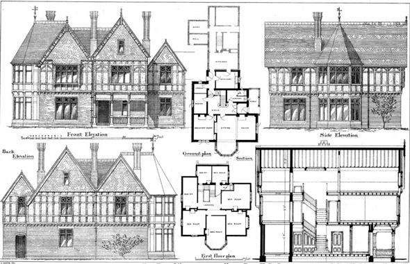 1877 – Ayres End Farm House, Wheathampstead, Hertfordshire