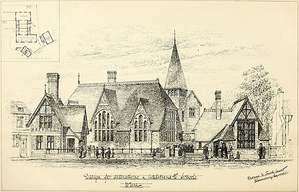 1874 – National School, Ware, Hertfordshire