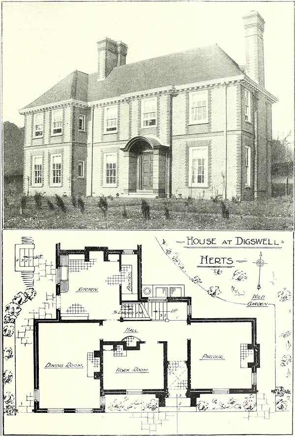 1919 – House at Digswell, Hertfordshire