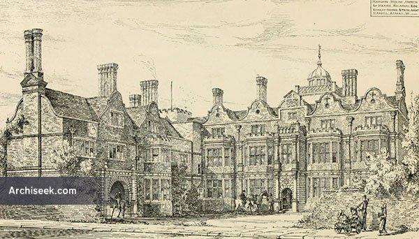1880 – Hawdon House, Hertfordshire