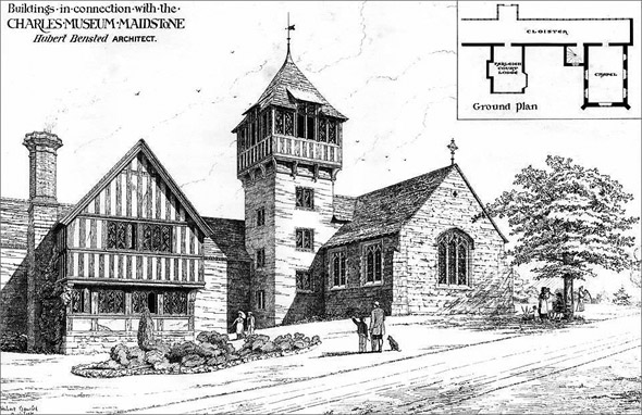 1877 – Charles Museum, Maidstone, Kent