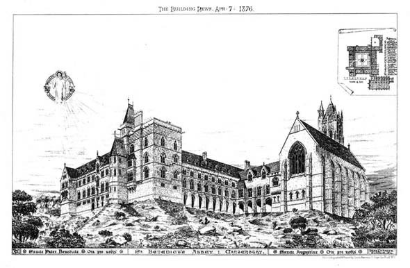 1876 &#8211; St. Benedict&#8217;s Abbey, Canterbury, Kent