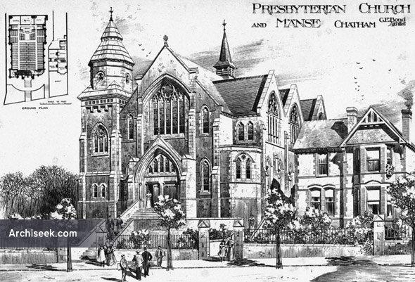 1891 – Presbyterian Church & Manse, Chatham, Kent