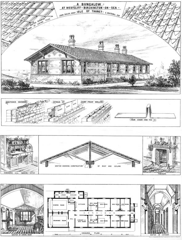1873 – Bungalow, Birchington On Sea, Kent