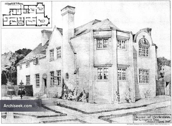 1894 – House at Beckenham, Kent