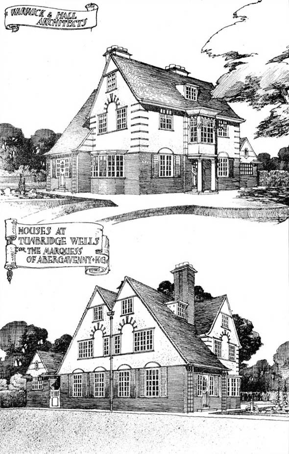 1910 – Houses at Tunbridge Wells, Kent