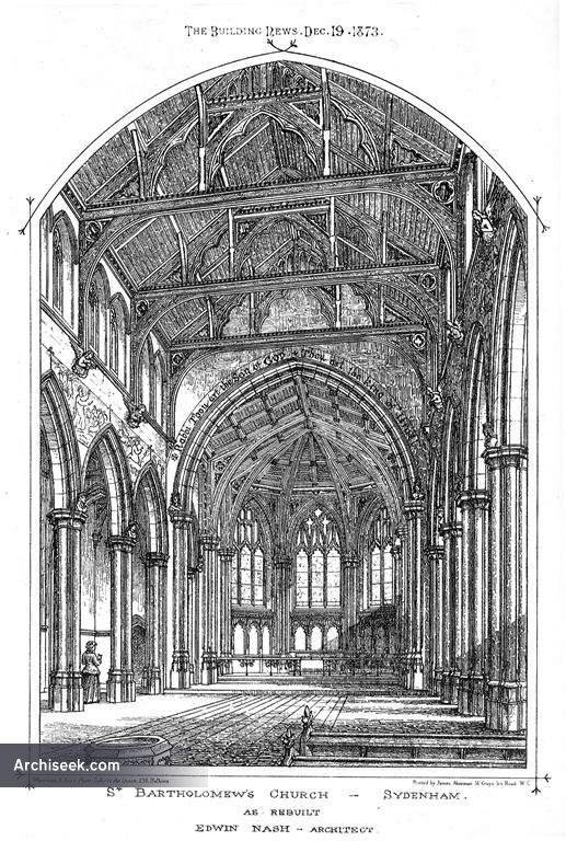 1873 – St. Bartholomews Church, Sydenham, Kent