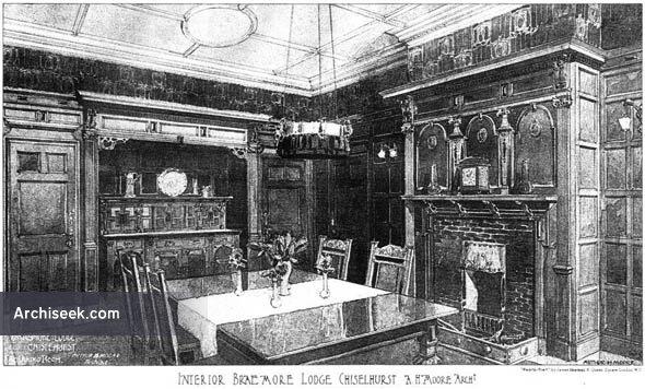 1905 – Braemore Lodge, Chislehurst, Kent