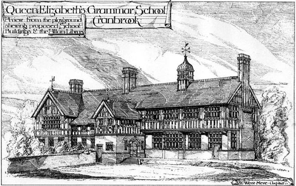 1878 &#8211; Queen Elizabeths Grammar School, Cranbrook, Kent