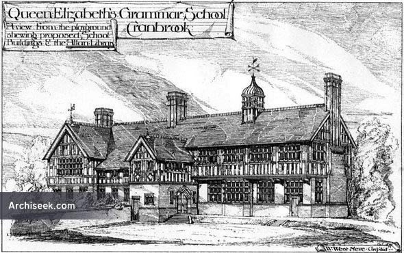 1878 – Queen Elizabeths Grammar School, Cranbrook, Kent